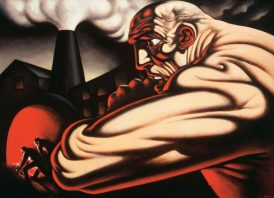 Steam and Pawer - Peter Howson